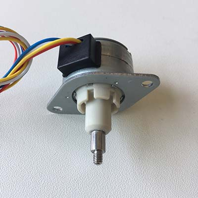 captive pm linear stepper motor