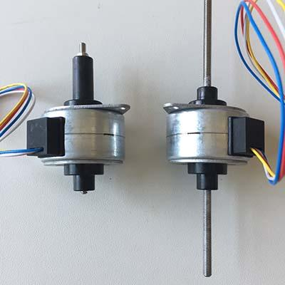 12V 35 captive or non-captive linear pm stepper motor