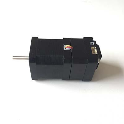 CANOpen stepper controller equipped servo stepper motor