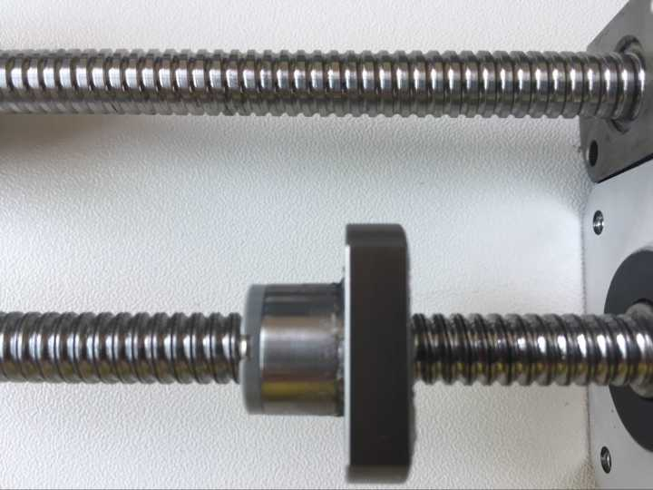 ground and rolled ball screw