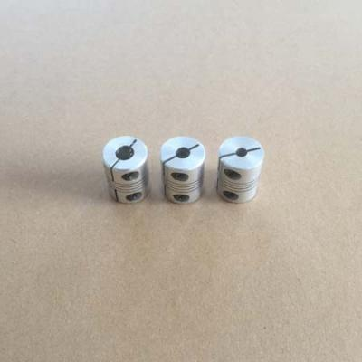 Flexible Clamping Coupler 8mm Shaft