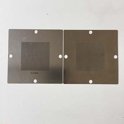 Universal 90mm BGA reballing stencils 6pcs