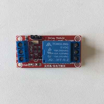 5V Relay Module 10A optocoupler isolated
