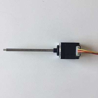 NEMA11 34mm threaded rod stepper