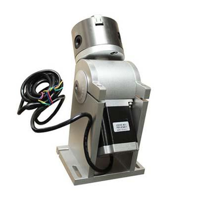 Rotary fixture 50 or 80 chuck for laser marking machine