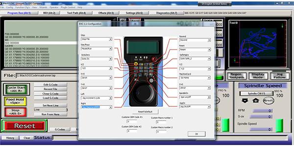 MPG pendant Mach3 USB wireless with LCD display - RobotDigg