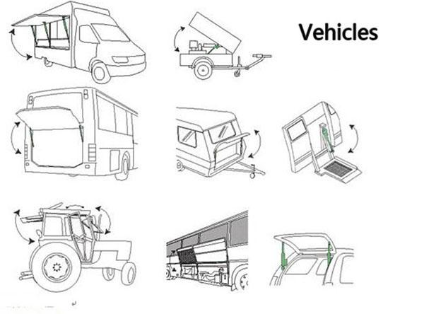 linear actuator vehicles