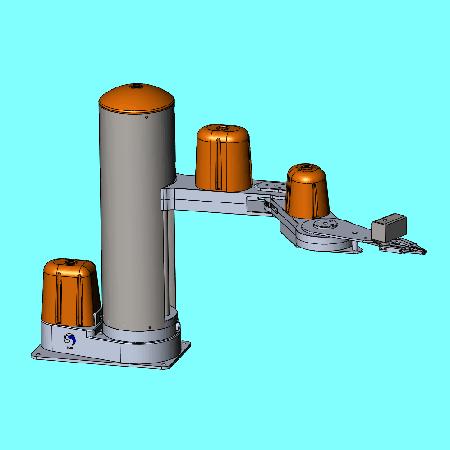 SCARA Robot Arm STEP or SERVO
