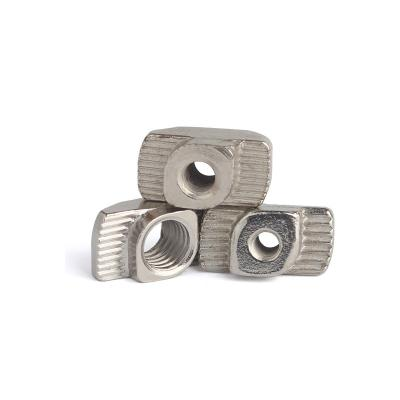 Post assembly T nuts for 1515, 2020 or 3030 aluminum profile
