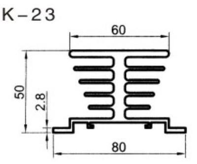heat sink for solid-state relay