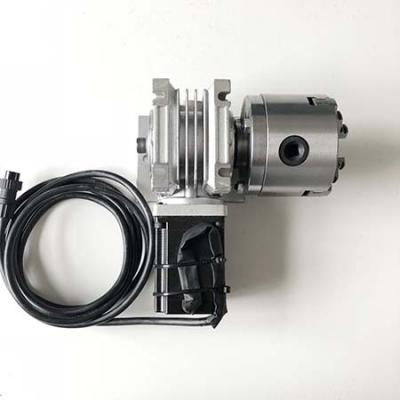 Worm gear drive 4th axis stepper motor