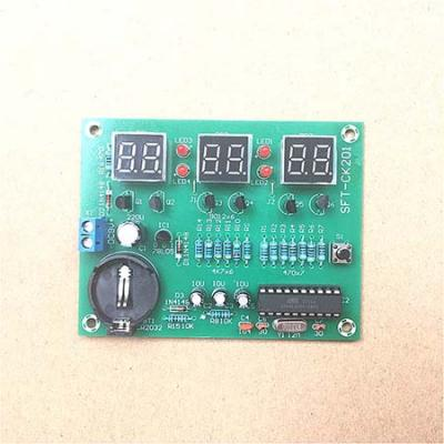 AT89C2051 6 seven-segment display Clock Kit DC 6-12V