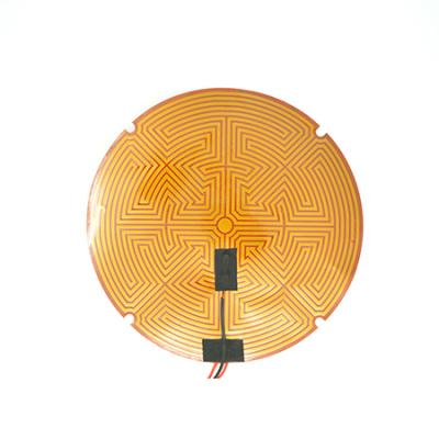 12V, 24V or 110V 300mm KAPTON FILM HEATER