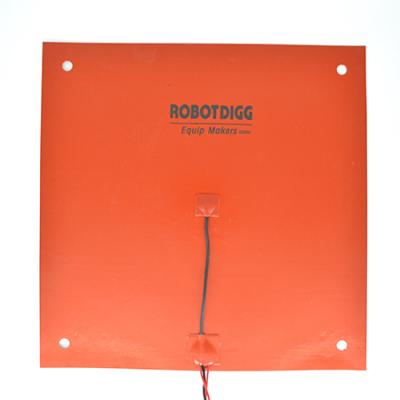 400mm flexible silicone heater pad