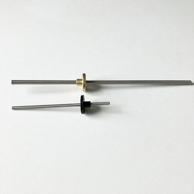 Tr3.5, Tr5 lead screw, trapezoidal screw nut