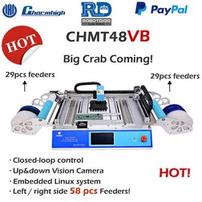 Benchtop CHMT48VA or CHMT48VB pick and place machine