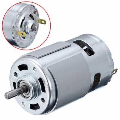 12V 5000 to 15000 RPM 775 DC Motor for electric tool or machinery