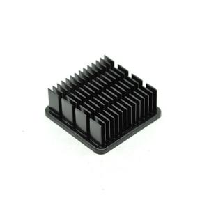 Matt black industrial thermalloy heat sink - RobotDigg