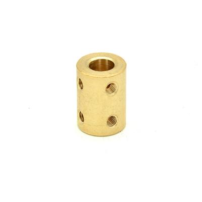 Rigid Coupling D16L22 or D20L25 in Brass