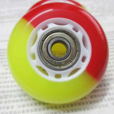 60mm or 78mm rollerblade wheel with bearings