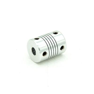 Flexible Coupling 6mm or 6.35mm Shaft to Screws