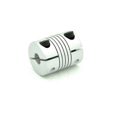 Flexible Clamping Coupler 8mm Shaft