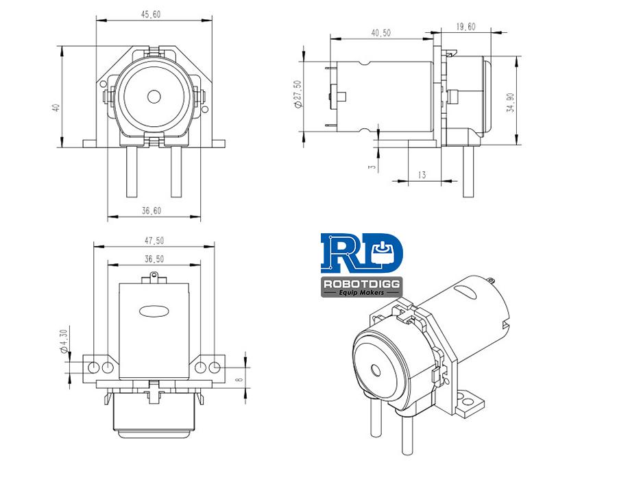 vertical plate pump