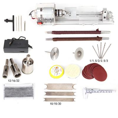 Mini Lathe CNC Machining Beads Polisher Machine