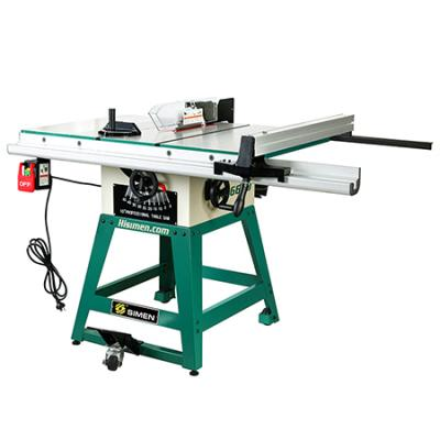 10-inch Hisimen H36650 Table Saw with 1500W Powerful Motor