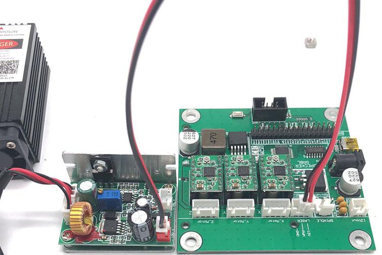 GRBL control board