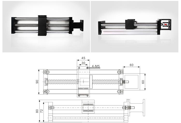 90 linear module