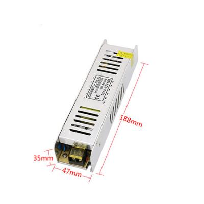 12V long strip single output switching power supply