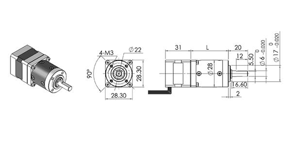 nema11 geared stepper motor