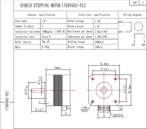 nema17 30mm stepper