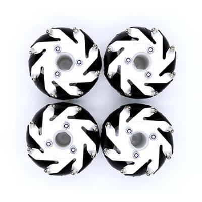 48mm or 60mm aluminum Mecanum Wheel set