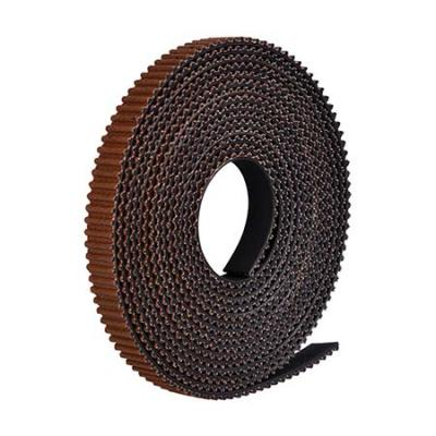 Silent and durable GT2 rubber belt with Cloth