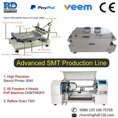 CHMT560P4 4 head pick and place machine