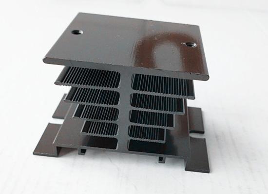 anodized heat sink