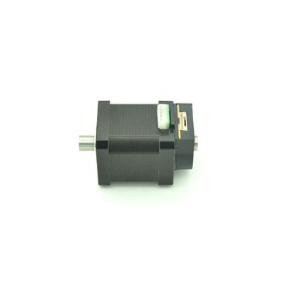 Hollow shaft stepper motor with encoder