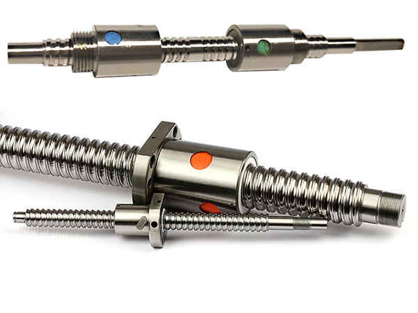 ground or rolled ball screw
