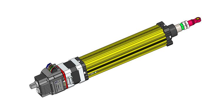 Stepper Motor Linear Cylinder