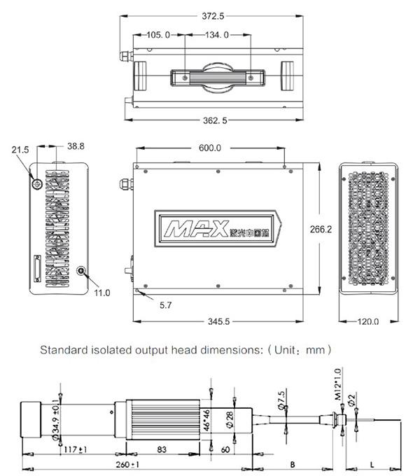 Maxphotonics Fiber Laser