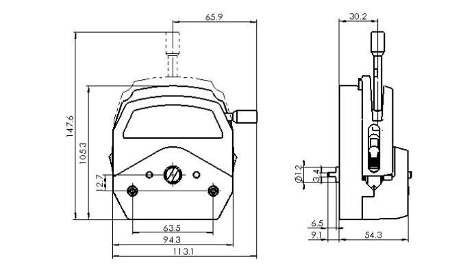 KZ25A peristaltic pump