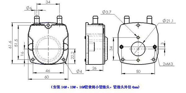JZ15 peristaltic pump