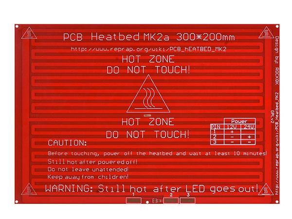 MK2A heatbed