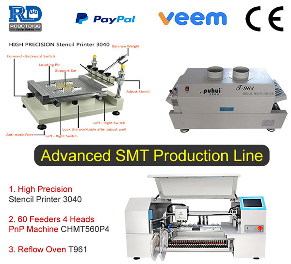 CHMT560P4 SMT Production Line