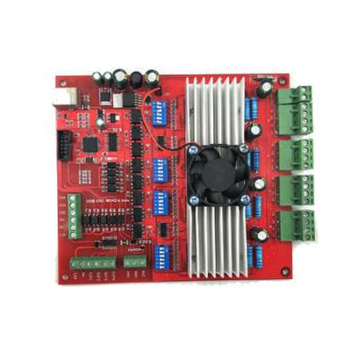 3 or 4 axis USB MACH3 control n drive board