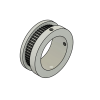 50 tooth 2GT timing pulley