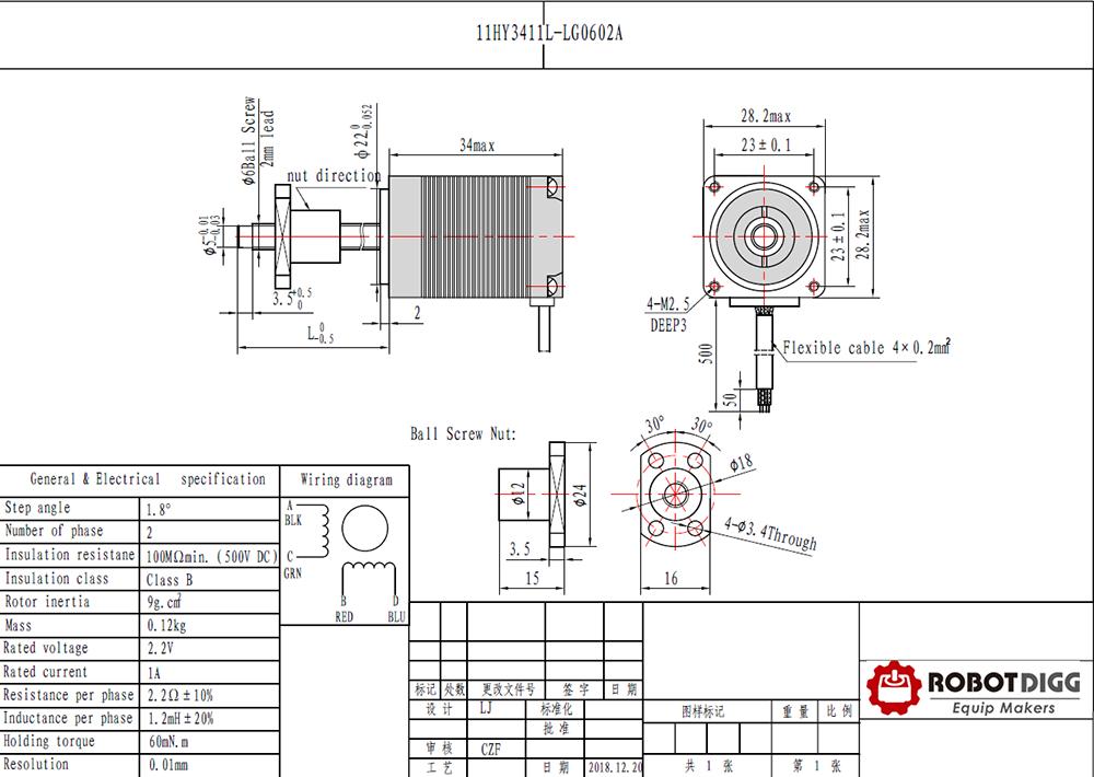 ball screw nema11 linear