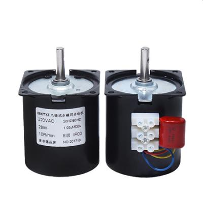 68KTYZ permanent micro gear synchronous motor